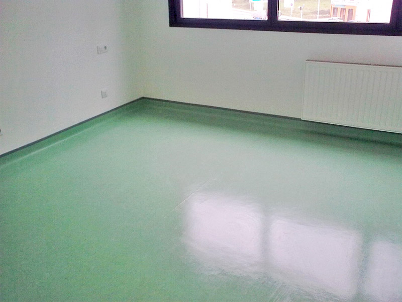 Trabajos de instalaci n de suelos y pavimentos de pvc - Pavimento de linoleo ...